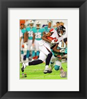 Framed Julio Jones 2012 running