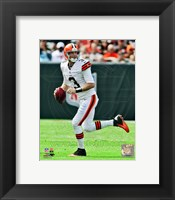 Framed Brandon Weeden 2012 Action