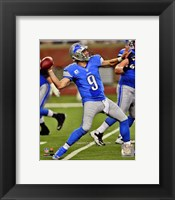 Framed Matthew Stafford 2012