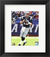 Framed Tom Brady 2012 Action