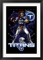 Framed Titans Quarterback 12
