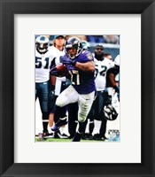 Framed Ray Rice 2012 Action