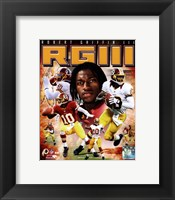 Framed Robert Griffin III 2012 Portrait Plus