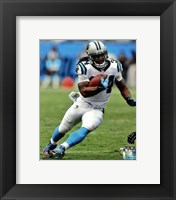 Framed DeAngelo Williams 2012 Action