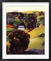 Framed Eucalyptus Hills