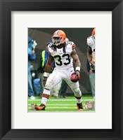 Framed Trent Richardson 2012 Action