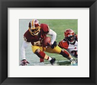 Framed Santana Moss 2012 Action