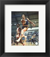 Framed Pete Maravich Action