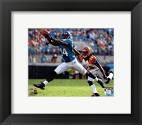 Framed Justin Blackmon 2012 catch