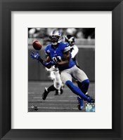 Framed Calvin Johnson 2012 Spotlight Action