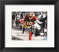 Framed Robert Griffin III 2012 Spotlight Action
