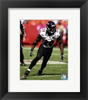 Framed Ed Reed 2012 Action
