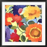 Framed Flower Market II