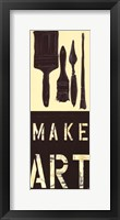 Framed Make Art
