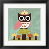 Princess Owl Framed Print