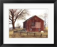 Framed Flag Barn