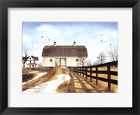 Framed Grandpap's Barn