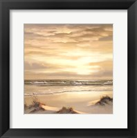 Framed Golden Skies II Triptych