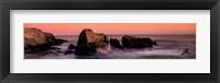 Framed Nature's Colors-Big Sur