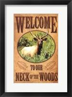 Framed Neck of the Woods