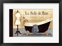 Framed La Salle de Bain