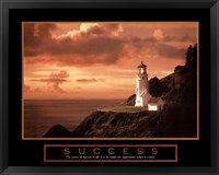 Framed Success-Lighthouse