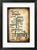 Family I Framed Print