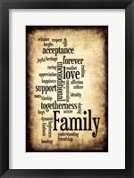 Framed Family I
