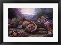 Framed Garden Stair