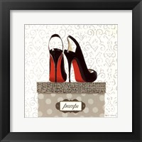 Framed Tres Chic Square I