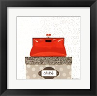 Tres Chic Square III Framed Print