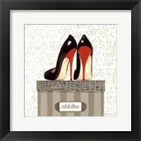 Tres Chic Square IV Framed Print