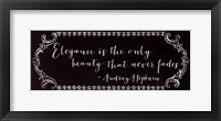 Never Fade Framed Print