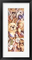 Framed Teddy Bear Playtime