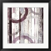 Framed Plum Zephyr I