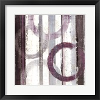 Framed Plum Zephyr II