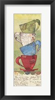 Come For Tea Framed Print