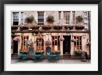 Framed Brecks Pub