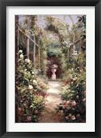 Framed Garden Entrance