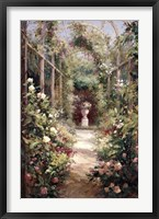 Framed Garden Entrance