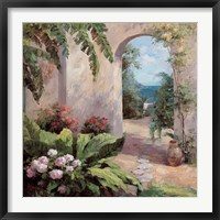 Framed Seaside Garden