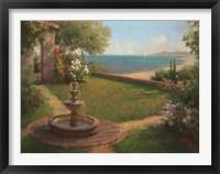 Framed Seaside Garden [horizontal]