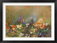 Framed Meadow Garden III