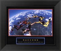 Framed Success - Skydivers