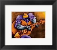 Framed Blues Time