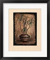 Framed Exotic Flora I