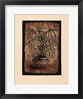 Framed Exotic Flora II