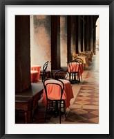 Framed Cafe Arcade, Venice