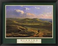 Winning-Irish Links Framed Print