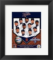 Framed Detroit Tigers 2012 American League Champions Composite